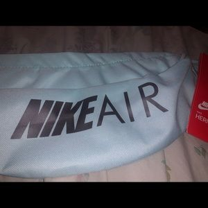 Baby blue nike fanny pack